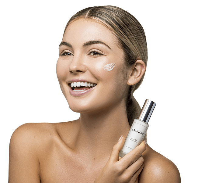 Daylight Facial Cream on skin