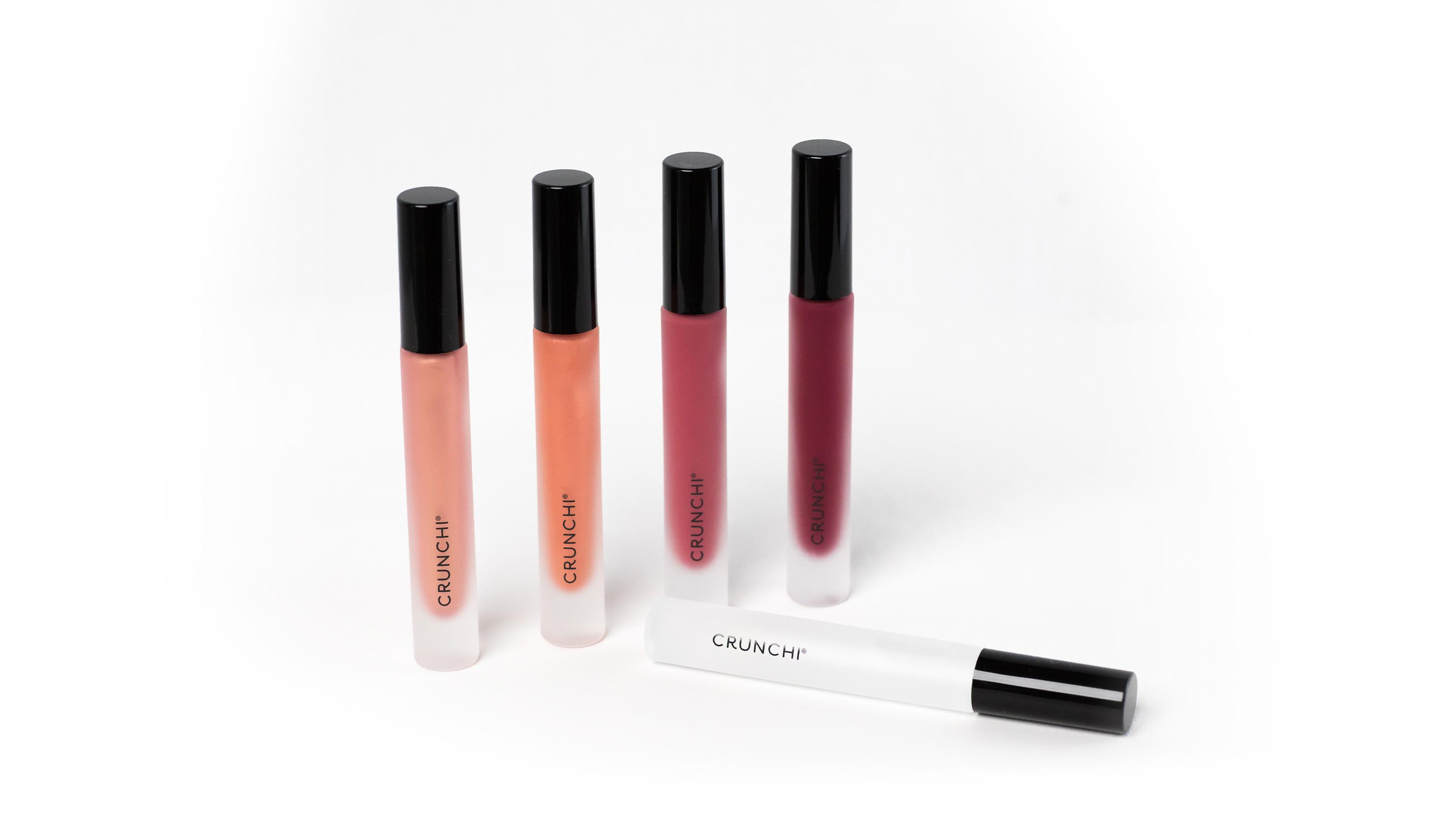 Three variaties of Crunchi Lipgloss