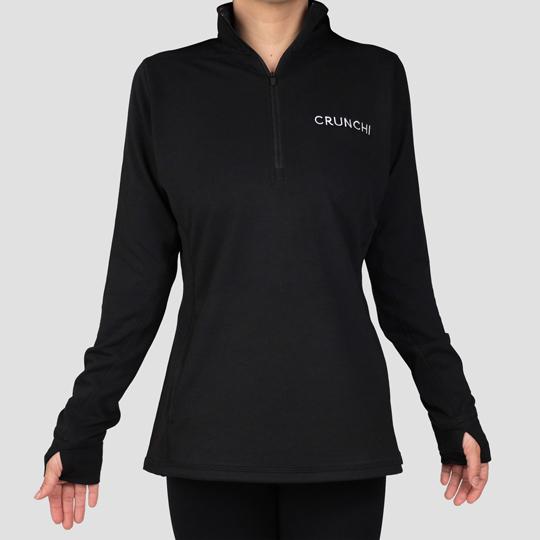 Women's Quarter Zip Pullover - Small - Women's Quarter Zip Pullover